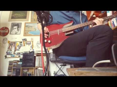 Danelectro longhorn demo with flatwounds + fuzz