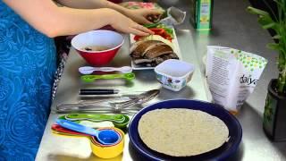 Easy 3-minute Gluten-free Veggie Fajitas - Alina Z