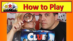 Clue Board Game:  How To Play