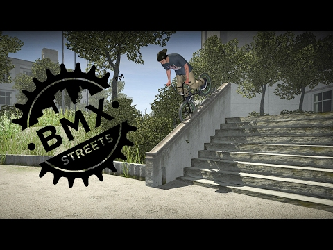 VIDEO GAME VS PROS!!! who did it better? BMX STREETS