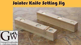 Jointer Knife Setting Jig