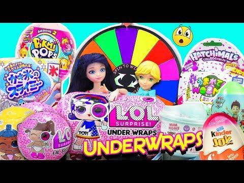 Nueva LOL Surprise Underwrap | Marinette y Adrien abren muchos juguetes sorpresas