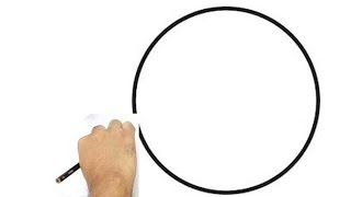 Drawing a perfect circle without a compass