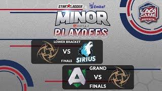 [DOTA2] Ninjas In Pyjamas VS Team Alliance - StarLadder IMBATV DOTA2 Minor [Ligagame]