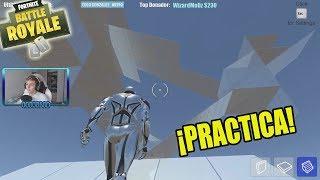 Este juego sirve para practicar construir en FORTNITE... (Tips y consejos)