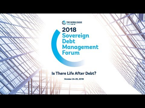 "2018 Sovereign Debt Management Forum ""Is There Life After De"