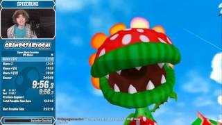 Super Mario Sunshine 120 Shines Speedrun in 3:42:59