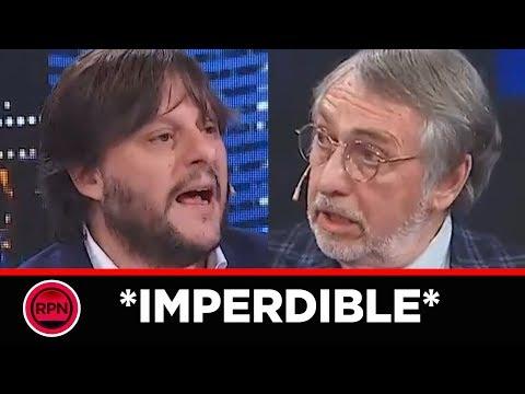 Leandro Santoro dejó en ridículo a Brandoni y dio cátedra en Intratables