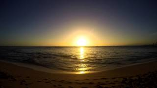 Waikiki, Sunset Time-lapse 1080 - GoPro 4 Silver