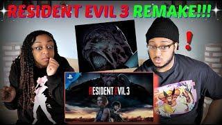 """""""Resident Evil 3"""" Remake Trailer REACTION!!!"""