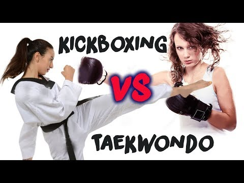 Top 9 Best Fight - Taekwondo VS KickBoxing and Now You Understand !!!