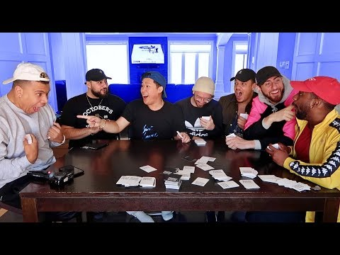 TEAM ALBOE PLAYS CARDS AGAINST HUMANITY!! (*NAUGHTY EDITION*)
