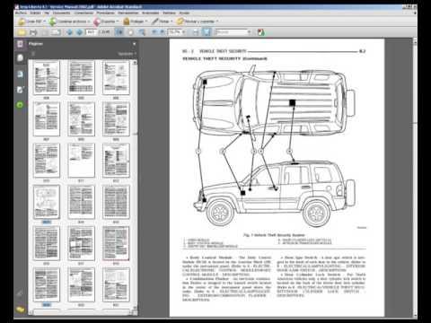 Jeep Liberty Kj 2002 Workshop Service Repair Manual Youtube