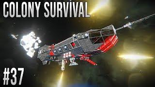 Space Engineers - Colony Survival Ep #37 - CARGO RAID!!