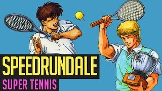 Super Tennis (Secret Boss) Speedrun in 12:33 von Berlindude1 | Speedrundale