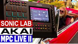Sonic LAB Akai MPC Live II - review