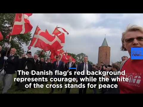 France 24:Watch: World's oldest flag, the Danish Dannebrog, celebrates 800th birthday