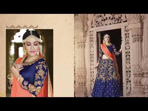 Latest Indian Lehenga choli Collection-2018 || Pr Fashion