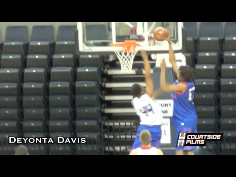 Deyonta Davis (Michigan St. Commit) Summer Mixtape
