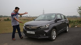 Honda Amaze Hindi Review - 90 percent Honda City for 70 percent price