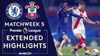 Chelsea v. Southampton   PREMIER LEAGUE HIGHLIGHTS   10/17/2020   NBC Sports