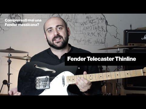 Fender Telecaster Thinline - La semihollow di casa Fender 🎸
