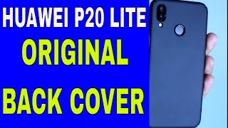 Bumper back cover for P20 lite | Huawei P20 lite case | Huawei P20 lite original back cover