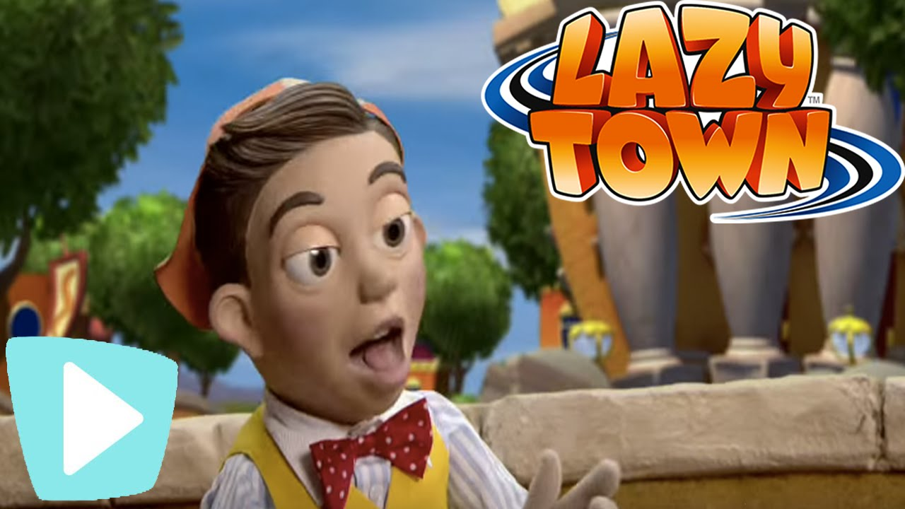 Lazy Town | Sportacus Saves The Toys - YouTube