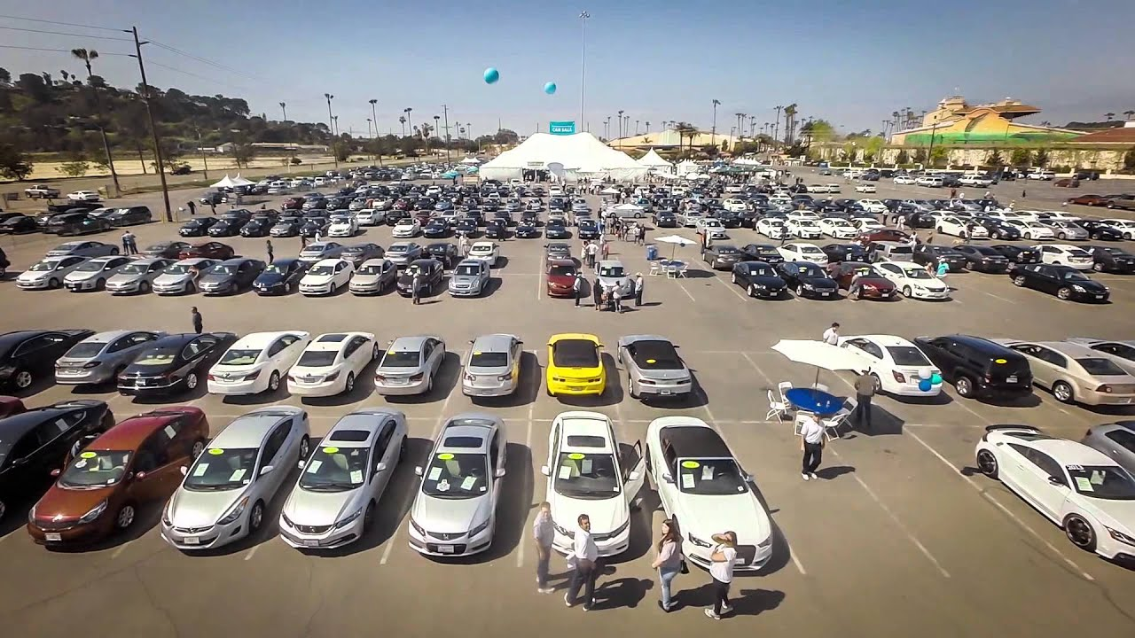 SDCCU Car Sale Aerial Tour - YouTube