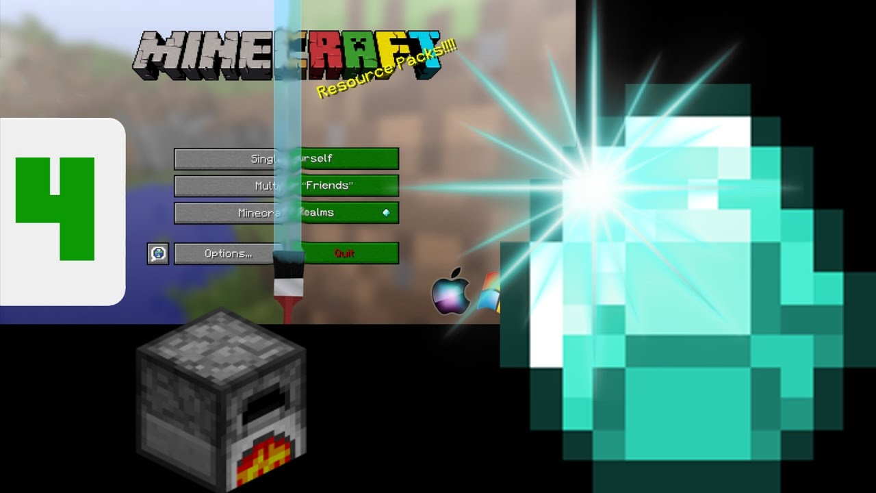 Minecraft Animated Items And Blocks Resource Pack Tutorial