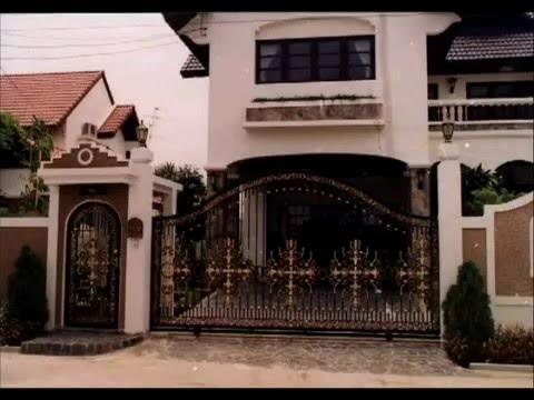 Iron Gates Ornamental Custom Design Artistic Estate Main