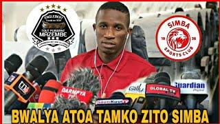 Alichokisema Rally Bwalya Atoa Tamko Zito Kuhusu Kuondoka Simba Kujiunga Na Tp Mazembe.......