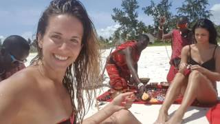 Kisiwa on the beach - Paje, Zanzibar - Day 2