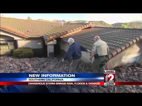Southern California mudflows trigger evacuations