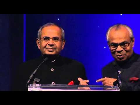 Sun Mark's third Queen's Award celebrations speech by Hinduja Brothers
