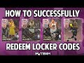 NBA 2K18 HOW TO REDEEM PINK DIAMOND LOCKER CODES SUCCESSFULLY! BEFORE LIMIT IS REACHED!
