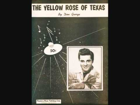 Johnny Desmond - The Yellow Rose of Texas (1955)