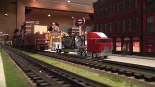 MTH and Lionel Hi Rail Trians in Pearl River: Week 1