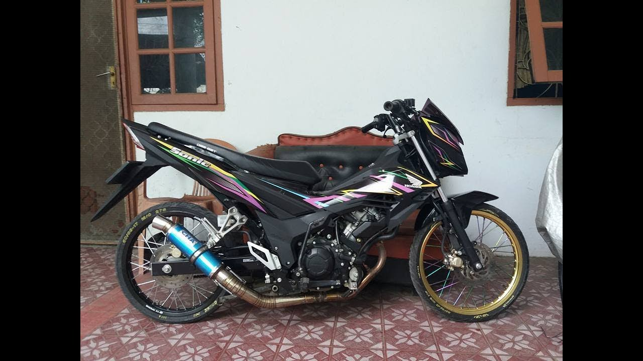 Modifikasi Motor Sonic Modifikasimania