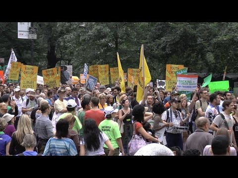 People's Climate March - New York City 2014