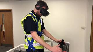 Nationwide Platforms Working at Height Virtual Reality Training Simulator