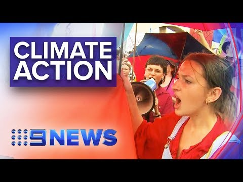 Extinction Rebellion Protesters Block Brisbane Streets | Nine News Australia