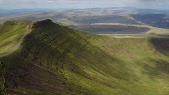 Pen Y Fan via drone