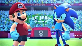 Mario & Sonic at the Olympic Games Tokyo 2020 All Cutscenes (Game Movie) 1080p HD