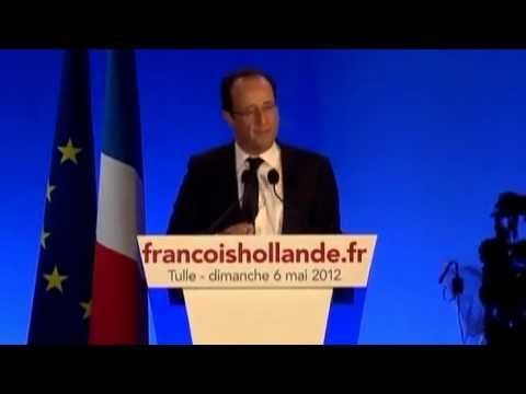 Socialist Francois Hollande Wins French Presidential Election