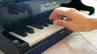 30 Keys Grand Wooden Toy Piano -  Part Ii