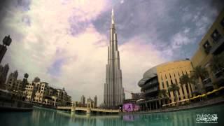 burj khalifa Time lapse dubai