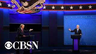 At final debate, candidates clash on key issues with fewer interruptions