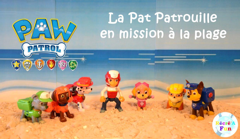 La Pat Patrouille En Mission à La Plage Paw Patrol S Rescue Mission On The Beach