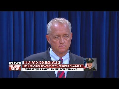 Ray Tensing, Samuel DuBose: Hamilton County Prosecutor Joe Deters discusses murder indictment